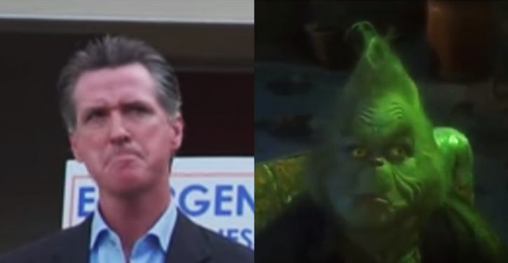Tweet of the Day: Gavin Newsom punches back at Trump with epic Grinch reference