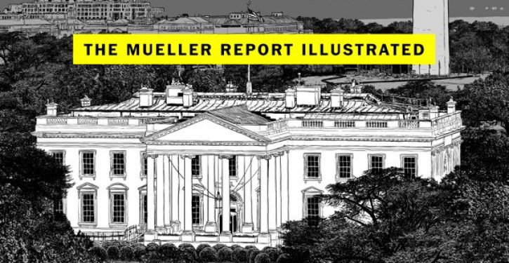 The Washington Post just released a cartoon version of the Mueller Report
