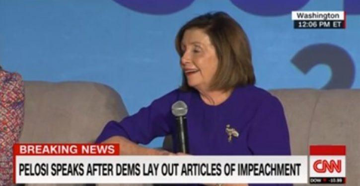 Republican moves to censure Pelosi for delaying impeachment to 'harm' Trump
