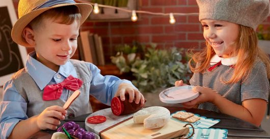 A toy charcuterie board for toddlers? What's next? by Ben Bowles