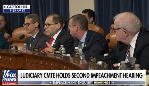 Just when you thought the impeachment hearings couldn't get more one-sided and farical by Howard Portnoy