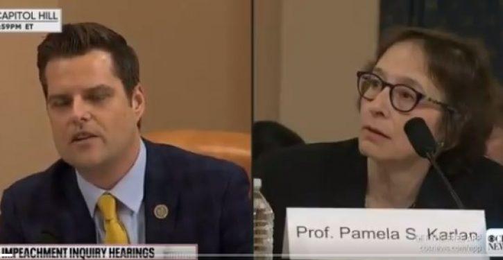 VIDEO: Impeachment witness Pamela Karlan hates white men