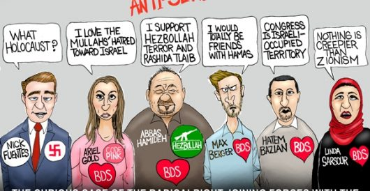 Cartoon of the Day: The new anti-Semites by A. F. Branco