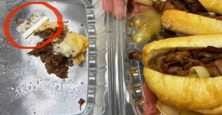 NYPD cop bites into sandwich, finds razor blade inside