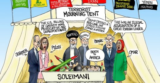 Cartoon of the Day: Mourning Soleimani by A. F. Branco