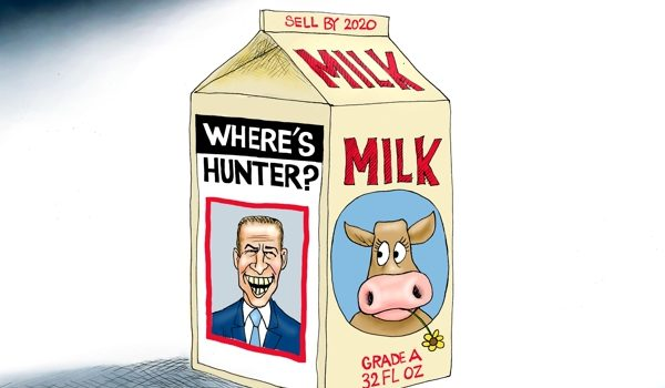 Cartoon of the Day: Milk dud by A. F. Branco
