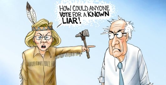 Cartoon of the Day: Forked tongues by A. F. Branco