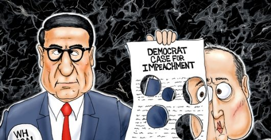Cartoon of the Day: Holy impeachment by A. F. Branco