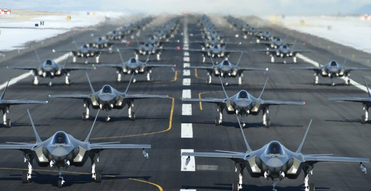Elephant walk: Hill Air Force Base in Utah puts up massive exercise sortie of 52 F-35 fighters