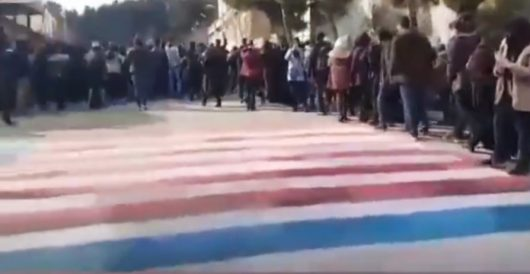 'Trump effect' takes over Iran as regime starts covering country with American and Israeli flags by J.E. Dyer