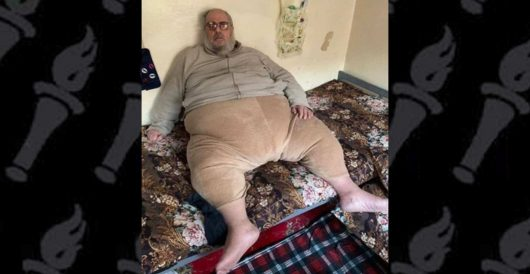 'Jabba the Jihadi,' morbidly obese fatwa-spinning machine for ISIS, arrested by Iraqis in Mosul by LU Staff