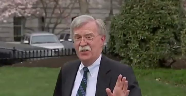 John Bolton confirms he didn't hear Trump insult fallen soldiers in France