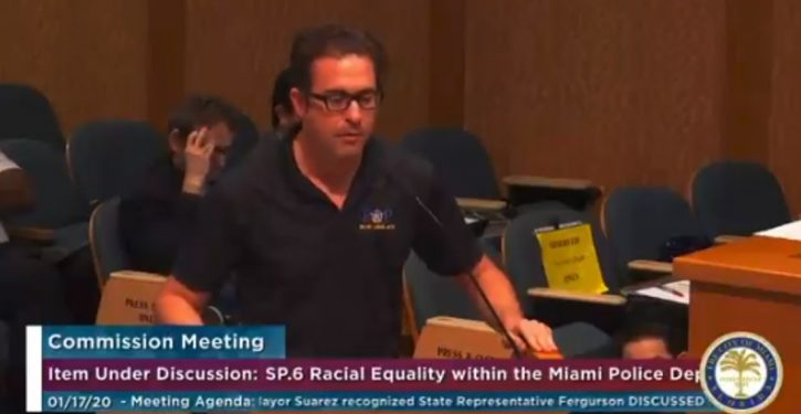 Miami police officer identifies as black; department suspends him