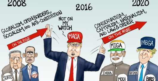 Cartoon of the Day: On Trump's watch by A. F. Branco