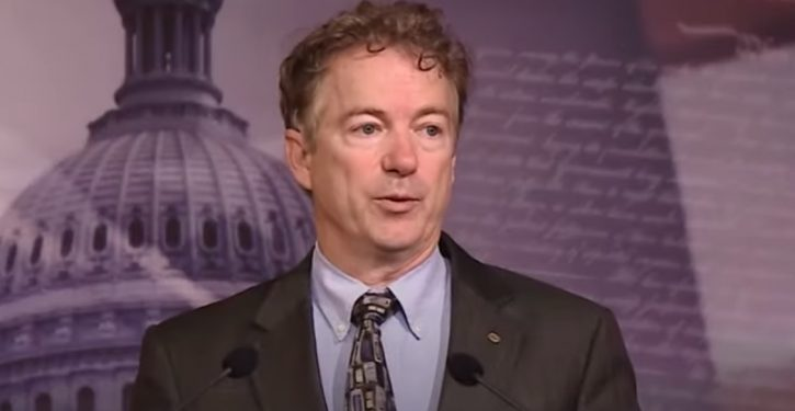 After beating coronavirus, Sen. Rand Paul is volunteering in Kentucky hospital