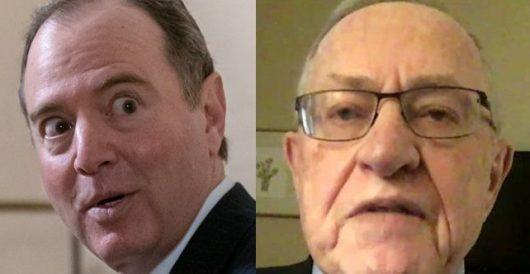 Adam Schiff warns Senate Alan Dershowitz is not a 'reputable constitutional law expert' by Ben Bowles