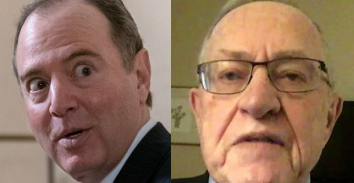 Adam Schiff warns Senate Alan Dershowitz is not a 'reputable constitutional law expert'