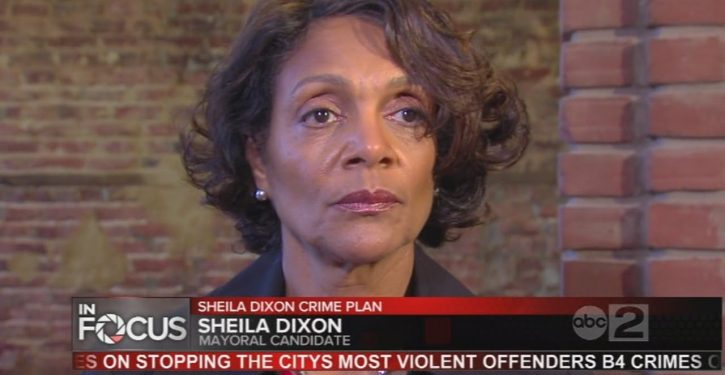 Baltimore mayor who embezzled gift cards for needy families announces she is running again