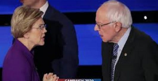 Sanders, Warren paid reparations for an estimated 2,102 tons of coal worth of carbon in 2019 by Daily Caller News Foundation
