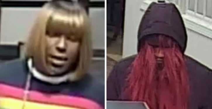 Feds searching for 'Bad Wig Bandit'