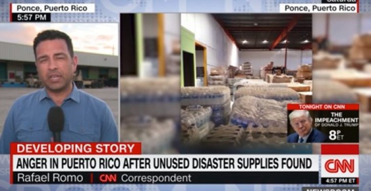 Warehouse filled with Hurricane Maria supplies discovered years later in Puerto Rico