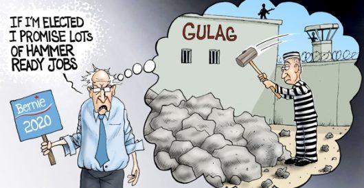 Cartoon of the Day: Bernie's jobs program by A. F. Branco