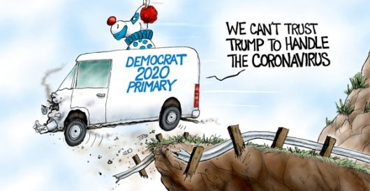 Cartoon of the Day: Clowns to the left of me by A. F. Branco