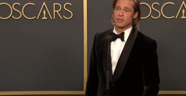 Brad Pitt makes political statement at Oscars, gets mocked by critics