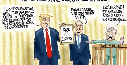 Cartoon of the Day: Deal of the Century by A. F. Branco
