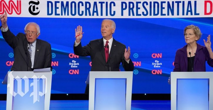 N.H. debate — Dems and the 's' word