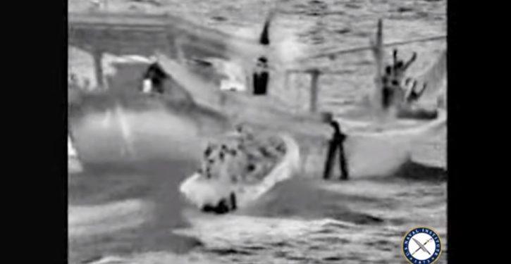 Arabian Sea: Cruiser USS Normandy seizes Iranian weapons headed for Yemen