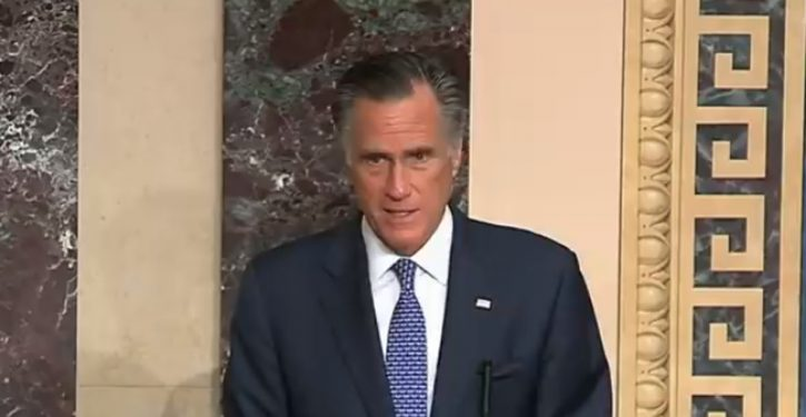 At appearance in Denver, Mitt Romney gets standing ovation for his impeachment vote