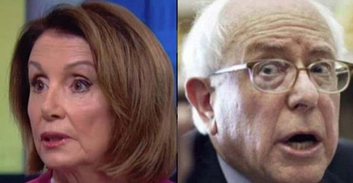 Bernie Sanders is proving Nancy Pelosi wrong