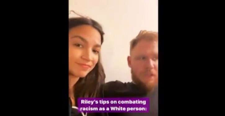 Ocasio-Cortez, white boyfriend explain how to combat racism as a white person