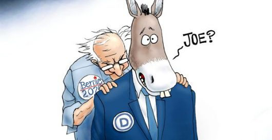 Cartoon of the Day: Feel the Bern 2.0 by A. F. Branco