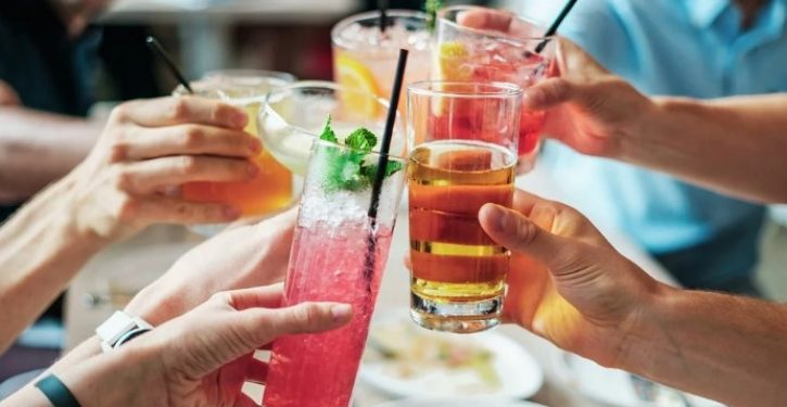 Women order cocktail in restaurant, served cleaning fluid instead