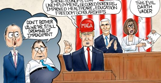 Cartoon of the Day: Trump Derangement Syndrome by A. F. Branco