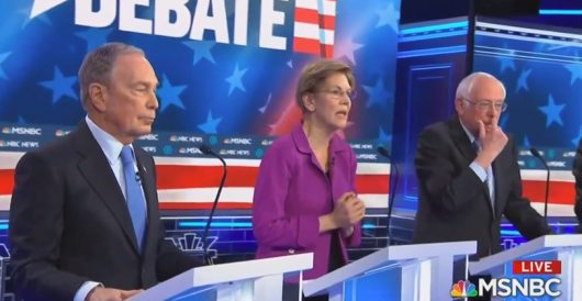 Warren's zinger at Bloomberg in last night's debate was solid gold by Ben Bowles