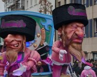 Ain't they got fun? Belgian city says its anti-Semitic parade was just for hits and giggles