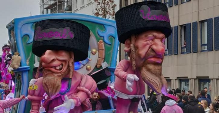 Ain't they got fun? Belgian city says its anti-Semitic parade was just for laughs