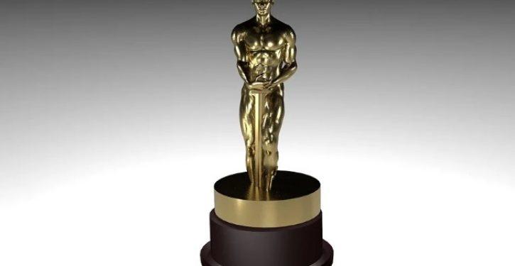 Oscar-winner slammed for thanking wife for giving up her career to raise their kids