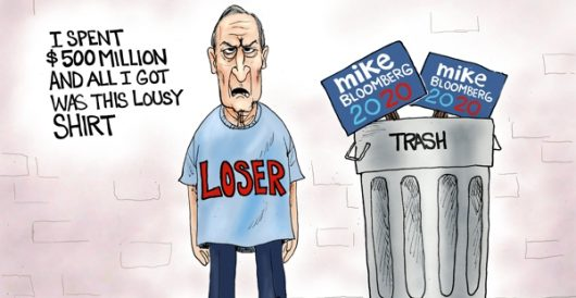 Cartoon of the Day: Mike can't get it done by A. F. Branco