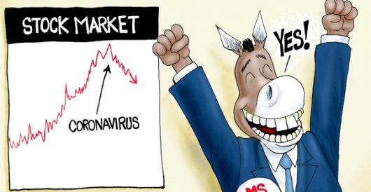 Cartoon of the Day: Let no crisis go to waste by A. F. Branco