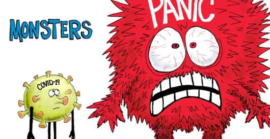 Cartoon of the Day: Monsters by A. F. Branco