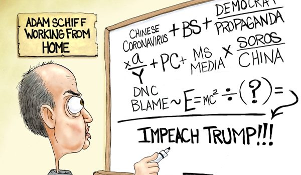 Cartoon of the Day: Cabin fever by A. F. Branco