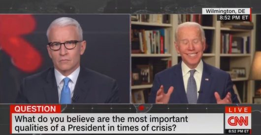 For Pete's 'takes': Biden garbles words again by Ben Bowles