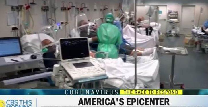 CBS News says use of Italian ER clip in NYC coronavirus story was 'editing mistake'