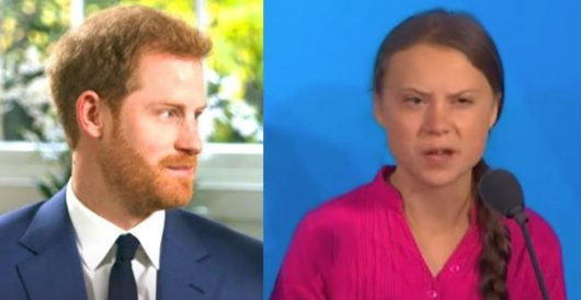 Prince Harry says Greta Thunberg would outsmart 'sick' Trump by Rusty Weiss