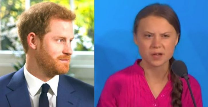 Prince Harry says Greta Thunberg would outsmart 'sick' Trump