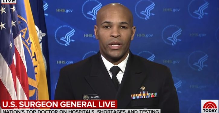 Surgeon General: 'This week it's going to get bad'